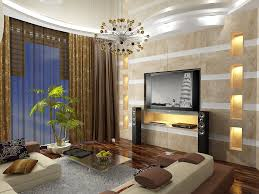 contemporary suite interior living tv room design layout come with
