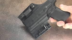 surefire light for glock 23 werkz origin holster for glock 19 surefire xc1 youtube