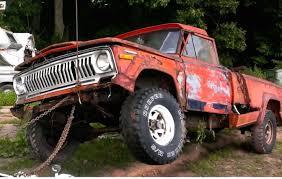 old truck jeep 1971 or u002772 jeep j2000 truck youtube