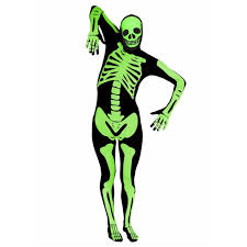 Glow In The Dark Skeleton Costume The Best Halloween Costumes For Adults Birmingham Mail