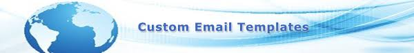 custom email templates white star email