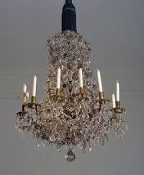 Rock Crystal Chandeliers Rock Crystal Chandelier 18th Century Pendant Lighting