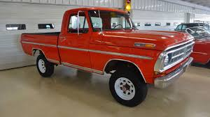 Vintage Ford Truck Beds For Sale - 1971 ford f 100 sport custom 4x4 pickup stock k03389 for sale