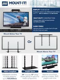amazon com mount it lcd led plasma tv wall mount bracket for