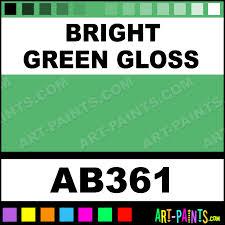 bright green gloss gloss enamel paints ab361 bright green