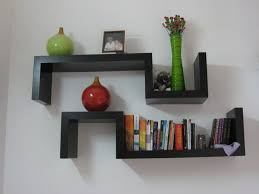 Stunning Wall Shelf Design Ideas Photos Decorating Interior - Wall hanging shelves design
