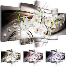wandbilder esszimmer deko bilder drucke auf leinwand mit orchideedünger fürs