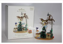 hallmark 2007 the coyote contraption looney tunes magic ornament