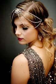 great gatsby hairstyles for long hair retro wedding hairstyles