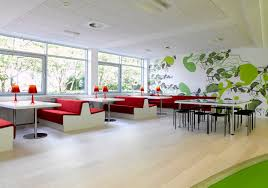 Open Office Floor Plan Layout by Open Plan Office Interior Design