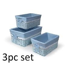 changing table organizer rattan wicker basket diaper bin baby