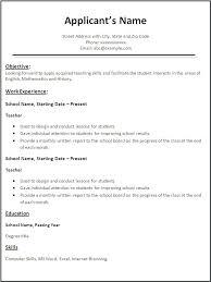 Resume Templates Free Google Docs Resume Resume Templets Resume Templates Free Download Pdf Resume