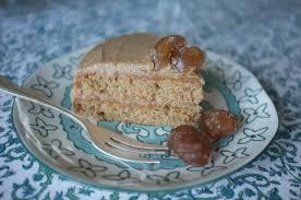 cuisiner marrons frais la recette du gâteau sans gluten châtaigne et marron glacé