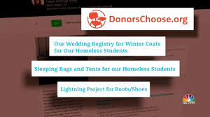 wedding registry donations utah s charity wedding registry goes viral nbc news