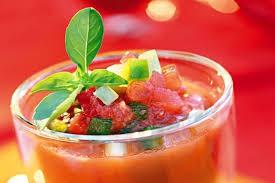 recette cuisine gaspacho espagnol recette gaspacho andalou entrée froide