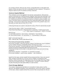 Sample Resume For Customer Service Supervisor by How To Value Startups And Emerging Companies