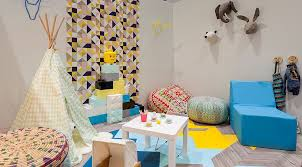 Kid Room Wallpaper by 25 Awesome Rooms That Inspire You To Try Out Geometric Wallpaper