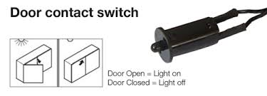 Cabinet Door Light Switch Led Lighting Types Of Switches Harbor City Supply