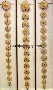 south indian bridal hair accessories online cz stones temple jeida indian jewelry south