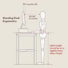 Standing Reception Desk by Making Stand Up Desk Best Home Furniture Decoration