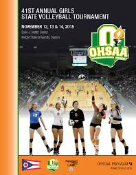 ohsaa girls volleyball information