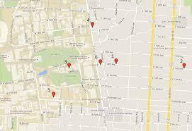 Unlv Map Campus Area Crime Map Feb 2 U2013 Feb 8 The Lantern