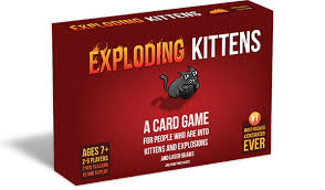 exploding kittens a card for who are into kittens