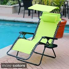 Zero Gravity Lounge Chair With Sunshade Styled Shopping Oversized Extra Large Zero Gravity Chair With
