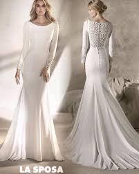 plain wedding dresses plain wedding dresses with sleeves modest wedding dresses