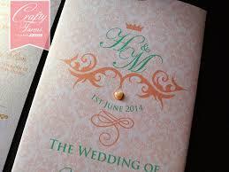 weddings cards wedding card malaysia crafty farms handmade vintage damask