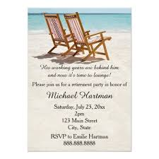 retirement invitations chairs retirement party invitations zazzle