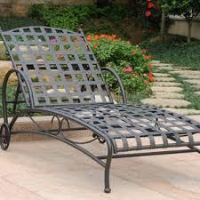 Metal Chaise Black Outdoor Lounge Chairs You U0027ll Love Wayfair
