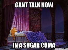 Sleeping Beauty Meme - beauty sugar coma