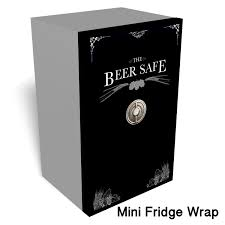 Basement Wrap by Beer Safe Mini Fridge Wrap Fridge Wraps Pinterest Mini