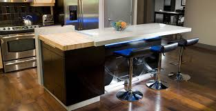 countertop for kitchen island kitchen concrete countertop gallery concrete exchange
