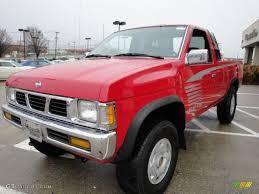 nissan hardbody 4x4 1995 aztec red nissan hardbody truck se v6 extended cab 4x4