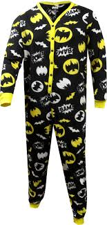 webundies batman union suit onesie pajama with flap