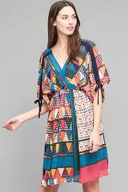 maeve clothing maeve geo printed dress anthropologie