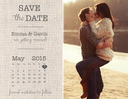 save the date calendar save the date magnet card or postcard burlap calendar 2419072
