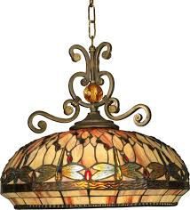 Dale Tiffany Buffet Lamps by Dale Tiffany Th10097 Briar Dragonfly Tiffany Antique Golden Sand