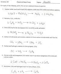 balancing equations worksheet template balancing chemical word