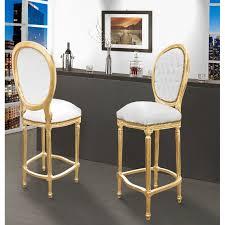 chaise dor e chaises blanc et bois maison design wiblia com