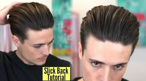 how to achieve swept back hairstyles for women u tube disconnected undercut popular slick back hairstyle tutorial by