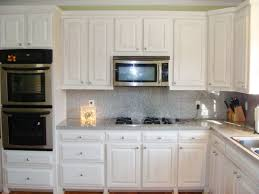 dreaded kitchen remodel with white appliances and dark cabinets
