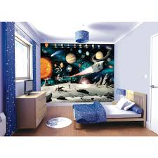 outer space wall mural home garden compare prices at nextag w space adventure wall mural multi