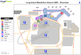 New York Airport Map Terminals by New York Long Island Mac Arthur Isp Airport Terminal Maps