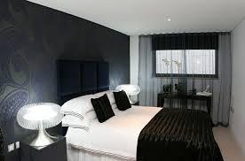 chambre papier peint chambre à coucher chambre deco papier peint motifs noirs