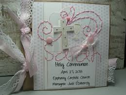 personalized scrapbook albums holy communion holy communion communion girl
