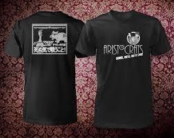 the aristocrats mesker front back t shirt mockup