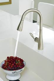 lovely exquisite stainless steel kitchen faucet with pull down